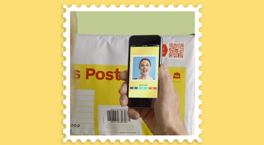 video stamps timbres videos qrcodes gkdv geek geekndev