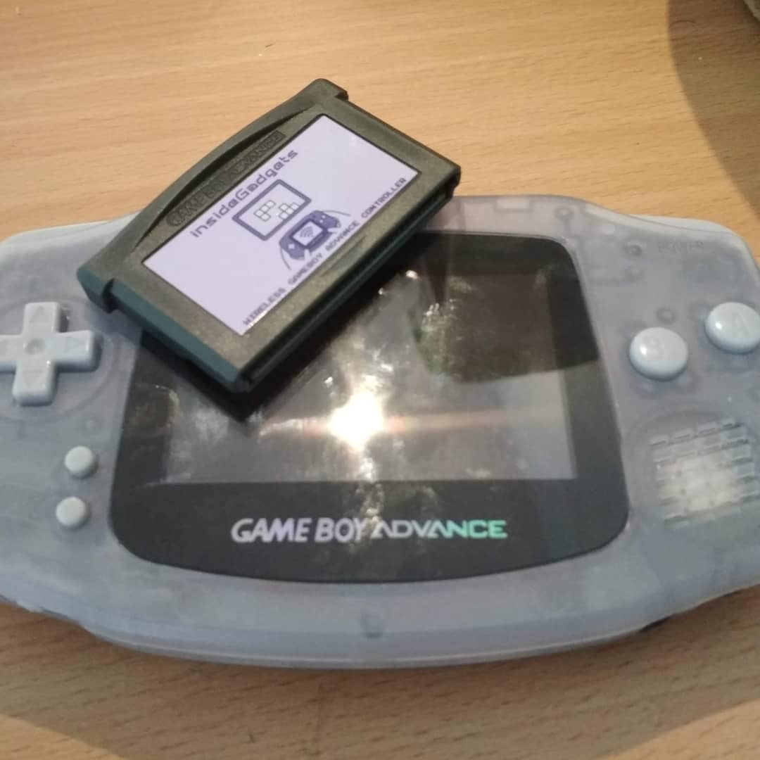 Retropie with a gameboy advance as controller